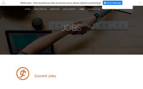 Screenshot of Jobs Page jobcafe.online - JobCafe - captured Nov. 27, 2018