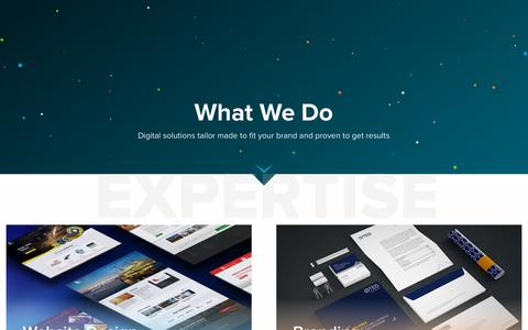 Screenshot of Services Page kavaghana.com - Custom Website Design, Branding, Web Development, Ecommerce and Digital Marketing | Kava Ghana - captured Oct. 15, 2018