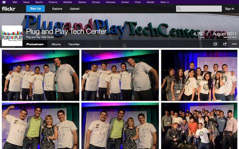 Screenshot of Flickr Page flickr.com - Flickr: Plug and Play Tech Center's Photostream - captured Oct. 22, 2014