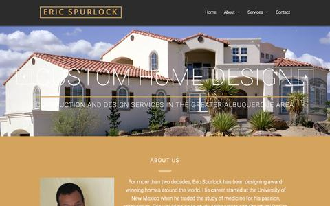 Eric Spurlock: Custom Home Design in Albuquerque