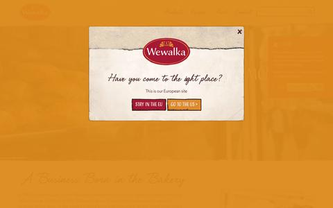 Screenshot of About Page wewalka.at - About   Wewalka - captured Oct. 20, 2018