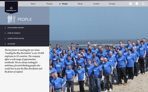 Screenshot of Team Page marineharvestireland.com - People - captured April 17, 2016
