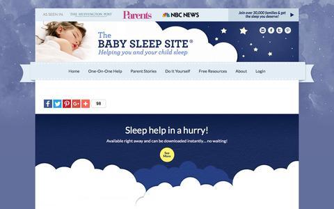 | The Baby Sleep Site - Baby / Toddler Sleep Consultants
