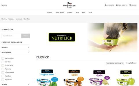 Nutrilick Archives - Horseware Ireland