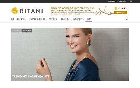 Screenshot of Blog ritani.com - Ritani | Diamond Jewelry & Engagement Ring News - captured Feb. 20, 2016