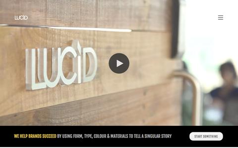 Screenshot of About Page lucid.co.in - Lucid : About Us | Design Company In India, Design Company In Bangalore - captured Nov. 14, 2016