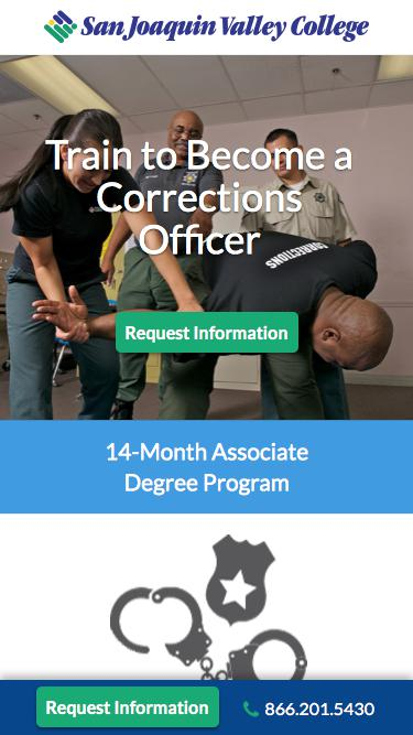 Train to Become a Law Enforcement Officer   SJVC