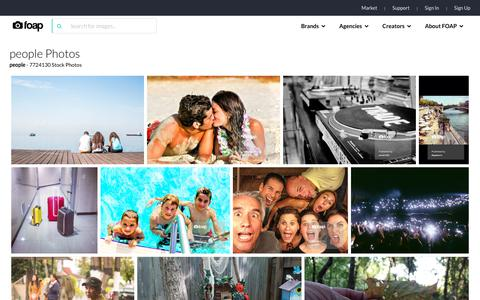 Screenshot of Team Page foap.com - Foap.com: people images, pictures and stock photos - captured July 13, 2018