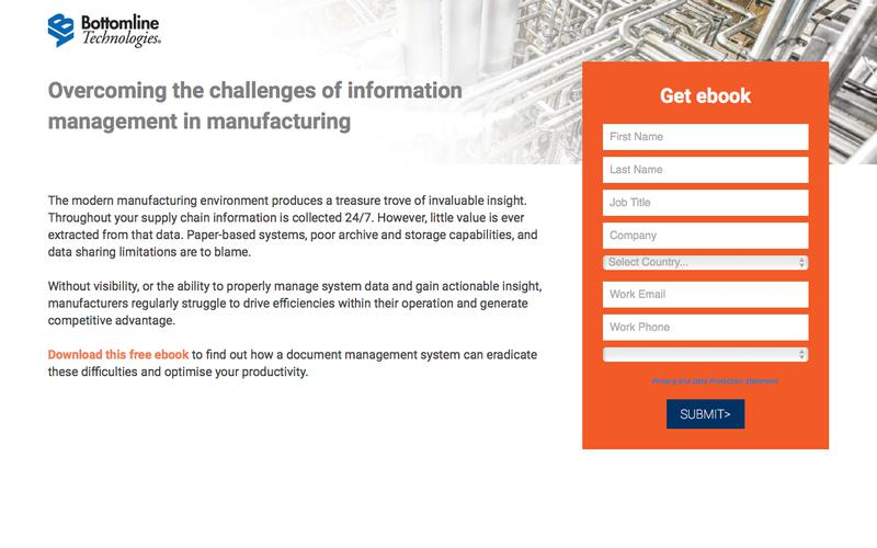 Overcoming the challenges of information management in manufacturing