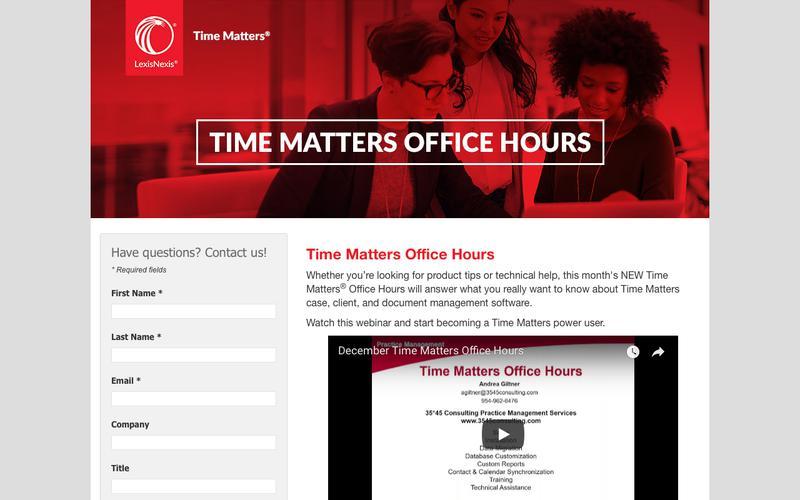 LexisNexis® Time Matters®