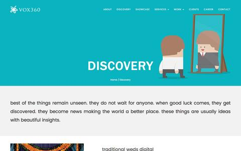 Screenshot of Press Page vox360.com - Traditional Versus Digital Advertising | Vox360 - captured Feb. 2, 2016