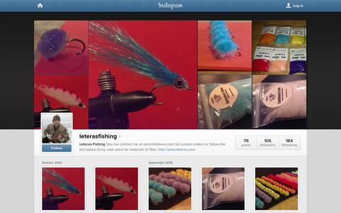 Screenshot of Instagram Page instagram.com - Instagram - captured Oct. 22, 2014