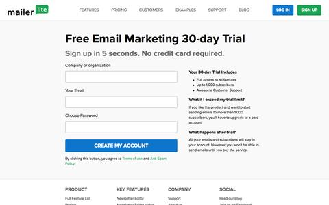 Email Marketing Software, Services and Newsletters | MailerLite