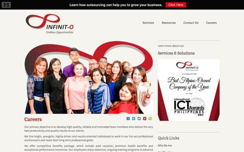 Infinit Outsourcing Philippines | Careers
