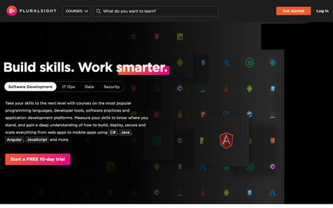 Pluralsight | Unlimited Online Developer, IT and Creative Training
