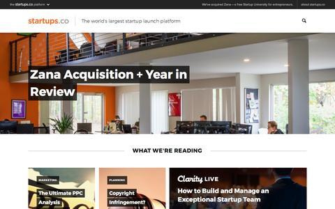 Startups.co | Startup Launch Platform