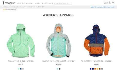 Women's Apparel – Cotopaxi - Gear For Good