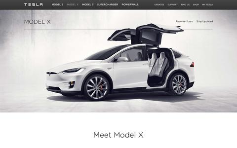 Screenshot of teslamotors.com - Model X | Tesla Motors Canada - captured April 12, 2016