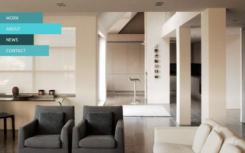 Screenshot of Home Page amalgam.co.uk - Amalgam Studios | Interiors, Branding & Architecture - captured Oct. 4, 2014