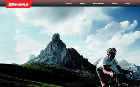 Screenshot of Home Page allbikers.net - AllBikers - Dubai - captured Oct. 5, 2014