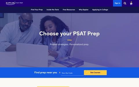 PSAT Prep | PSAT Test Prep | Kaplan Test Prep