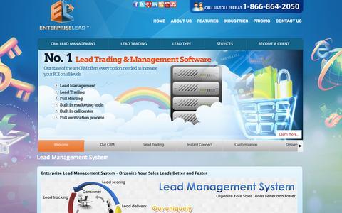 Screenshot of Team Page enterpriselead.com - Lead Management System | Dealer Lead Management Software Technology Expert - captured Sept. 30, 2014