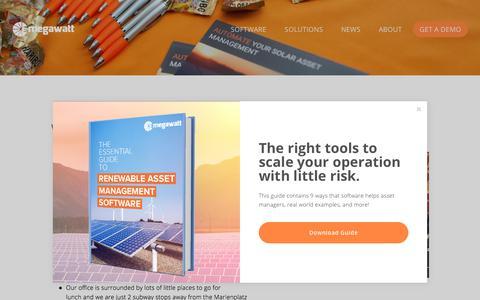 Screenshot of Jobs Page 3megawatt.com - Work with us — Wind and Solar Asset Management Software - captured Sept. 21, 2018