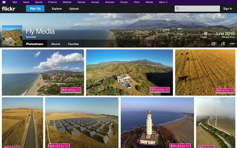 Screenshot of Flickr Page flickr.com - Flickr: flymediatv's Photostream - captured Oct. 23, 2014