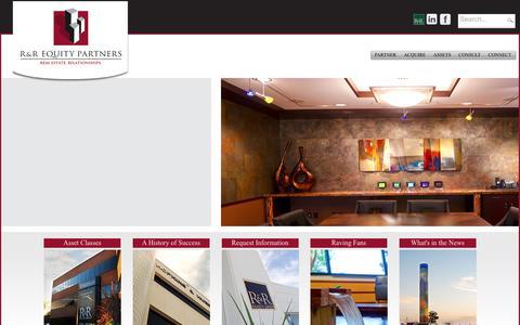Screenshot of Login Page rrequity.com - User Log In - captured Dec. 6, 2016