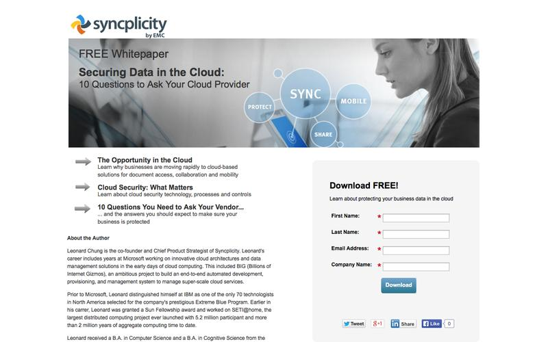 Cloud Security White Paper | Syncplicity