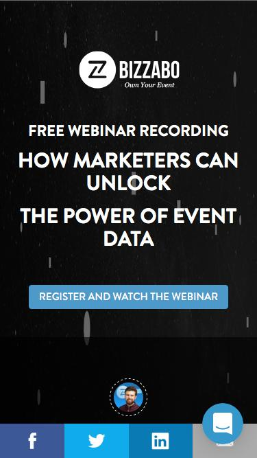 How Marketers can Unlock the Power of Event Data | Bizzabo