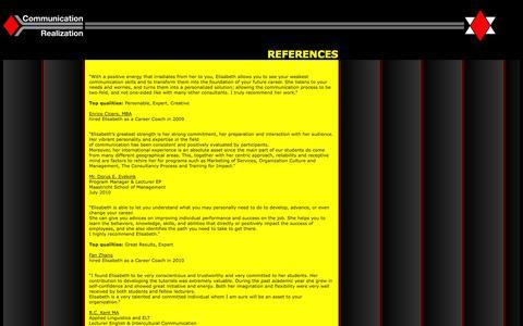 Screenshot of Testimonials Page communication-realization.com - Communication-Realization - captured Oct. 8, 2014