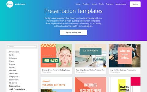 Presentation Templates - Canva