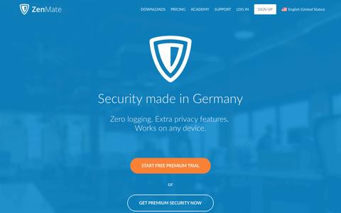 ZenMate - Internet Security and Privacy at its Best!