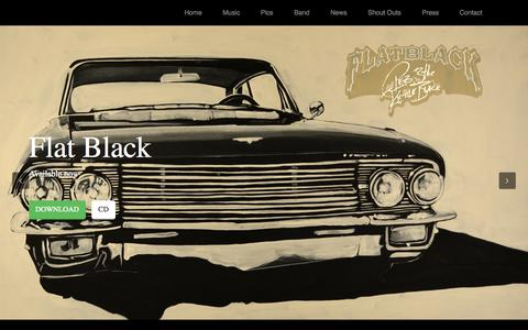 Screenshot of Home Page c-lebsounds.com - c-lebsounds.com | C-Leb & the Kettle Black - captured Oct. 8, 2014