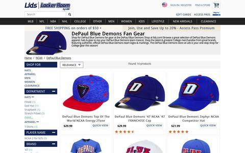DePaul Blue Demons Fan Gear | DePaul Blue Demons Store | lids.com