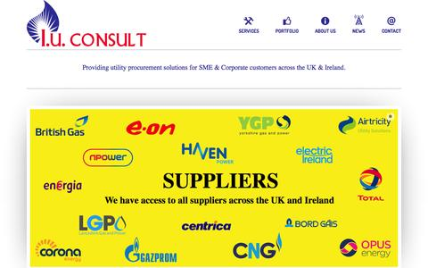 Screenshot of Blog Press Page iuconsult.com - I.U.Consult LTD - Providing utility procurement solutions for SME & Corporate customers across the UK. - captured Oct. 23, 2014