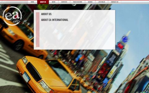 Screenshot of About Page ea-int.com - About EA International   Legal Recruitment - captured Oct. 1, 2014