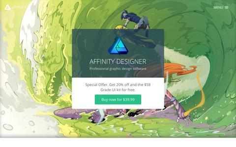 Affinity Designer - Professional graphic design software