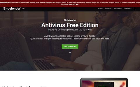 Free Antivirus Software - Download Bitdefender Antivirus Free