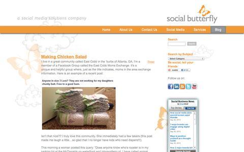 Social Butterfly Marketing's social media marketing blog | Social Butterfly Marketing