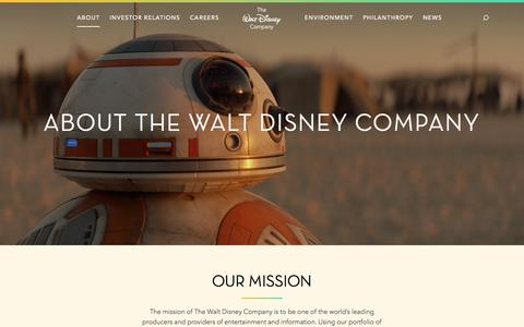 Screenshot of Team Page thewaltdisneycompany.com - About - Leadership, Management Team, Global, History, Awards, Corporate Responsibility - The Walt Disney Company - captured Dec. 15, 2015
