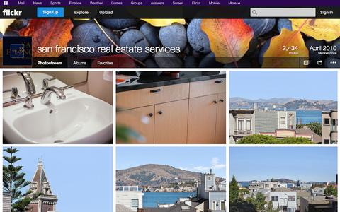 Screenshot of Flickr Page flickr.com - Flickr: san francisco real estate services' Photostream - captured Oct. 23, 2014