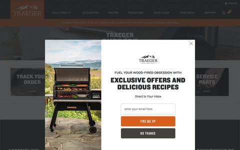 Screenshot of Support Page traegergrills.com - Traeger Support | Traeger Wood Fired Grills - captured Nov. 12, 2019