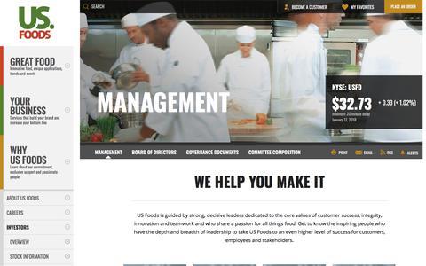 Low traffic Food & Beverage Team Pages | Website Inspiration