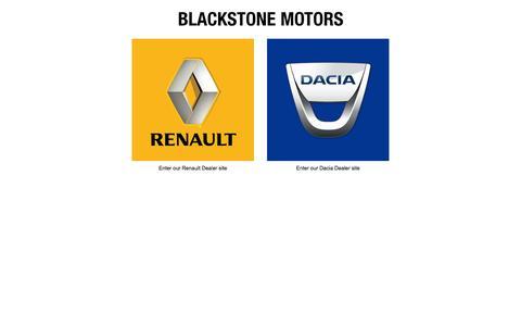 Screenshot of Home Page blackstonemotors.ie - Blackstone Motors, Renault Dealer Drogheda | Blackstone Motors Drogheda - captured Oct. 5, 2014