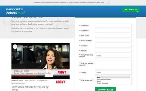 Screenshot of Signup Page avangate.com - Enterprise Edition Sign-up - captured Oct. 19, 2018