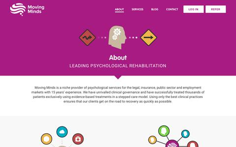 Screenshot of About Page moving-minds.org - Moving Minds - captured Oct. 21, 2017