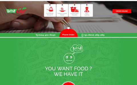 Screenshot of About Page beingchef.com - BeingChef - About Us - captured June 1, 2017