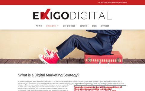 Digital Marketing Strategy - Exigo Digital